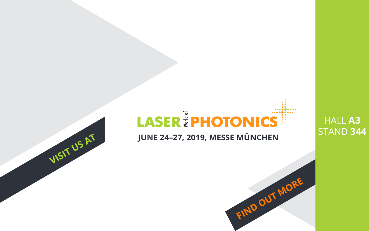 Laser Wold of Photonics (LWOP) 2019 banner