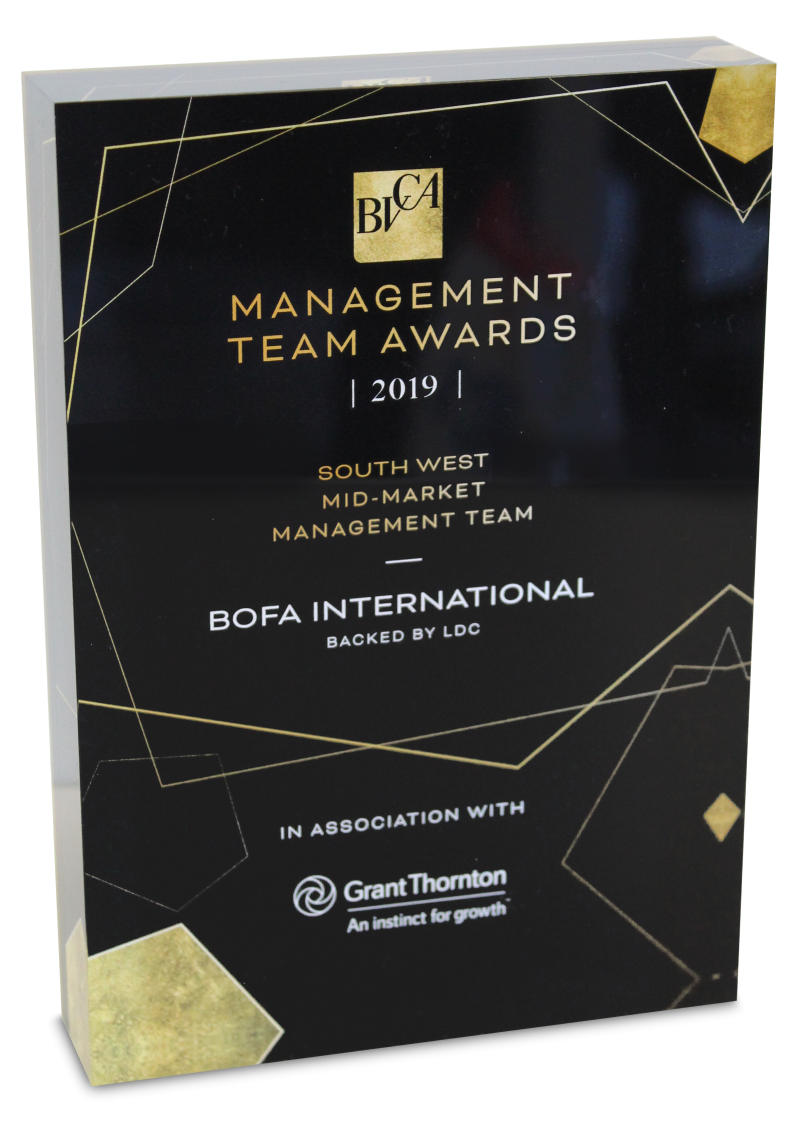 BVCA Award 2019 - Mid-Market Management Team of the Year