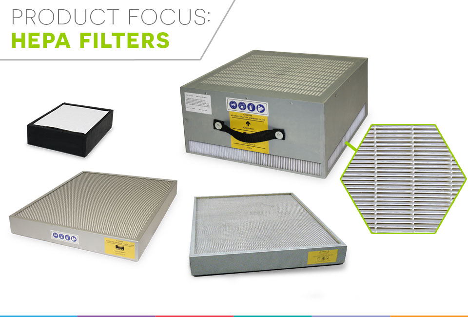 Product focus - HEPA filters
